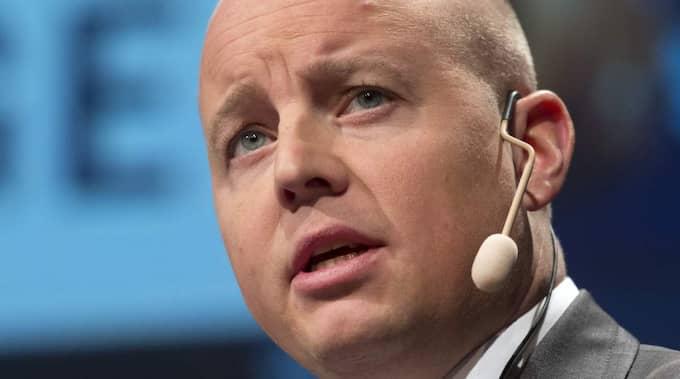 Björn Söder (SD) är riksdagens andre vice talman. Foto: Sven Lindwall