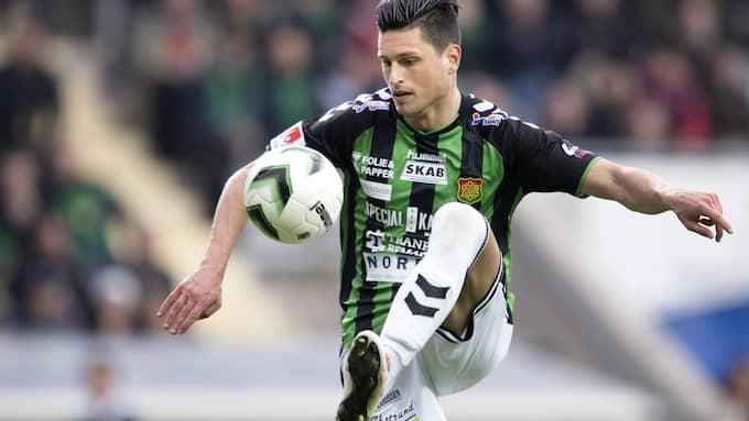 Luka Mijaljevic (här från en tidigare match) gjorde två mål mot Brommapojkarna. Foto: CARL SANDIN / BILDBYRÅN