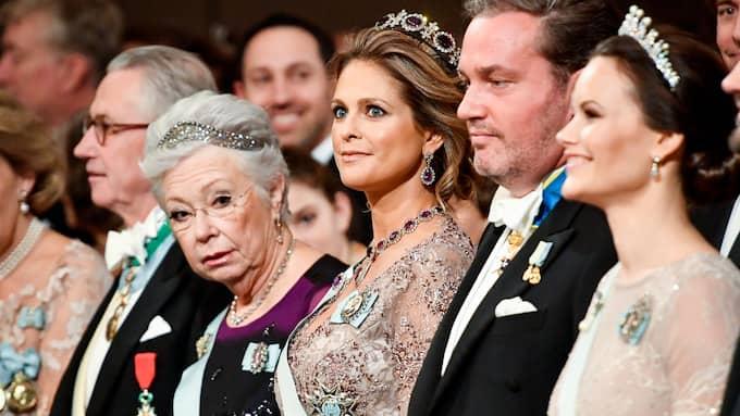 I december förra året närvarade hon också vid de årliga Nobelfestligheterna och representerade då kungafamiljen. Foto: JONAS EKSTRÖMER/TT / TT NYHETSBYRÅN