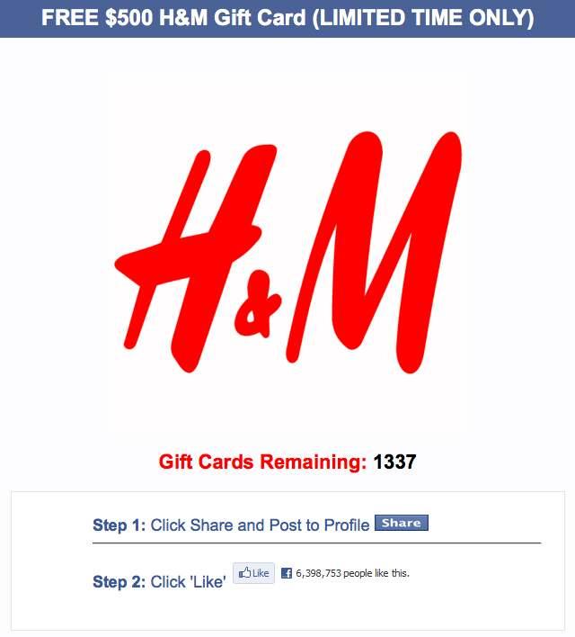 """""""Annonsen"""" på Facebook."""
