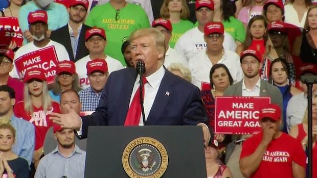 """Trump: """"Demokraterna vägrar försvara våra gränser"""""""