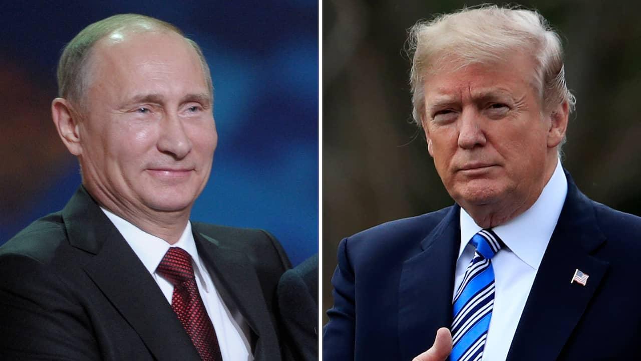 Trump ryssarna skrattar ihjal sig