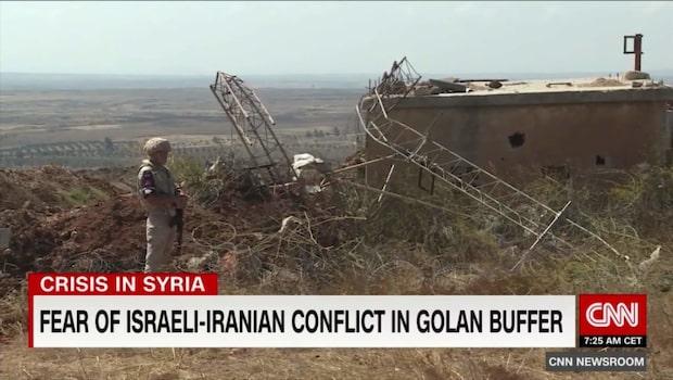 Konflikt trappas upp vid syriska gränsen