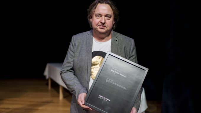 "Expressens fotograf Nils Petter Nilsson fick 2:a pris i kategorin ""Sportreportage"". Foto: Meli Petersson Ellafi"