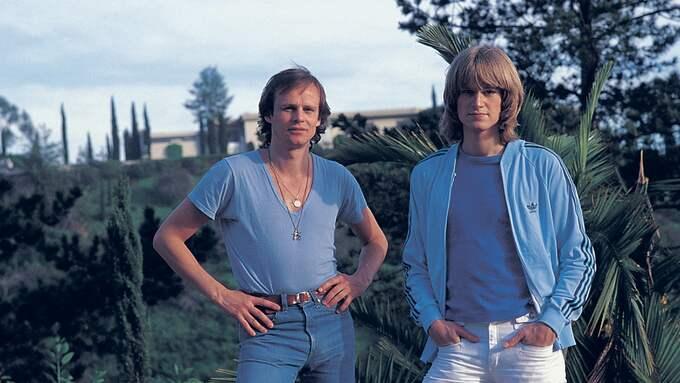 Ted och Kenneth Gärdestad. Foto: TORBJÖRN CALVERO / TORBJÖRN CALVERO © PREMIUM PUBLISHING