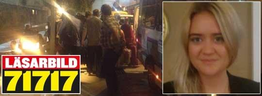 Jonna Fredriksson Kihlstrand är en av de svenskar som sitter fast på flygplatsen i Fort Lauderdale.