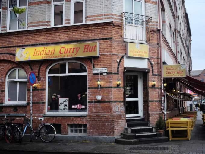 Ägaren av Häng bar har en restaurang som heter Curry Kitchen. Foto: Robban Andersson