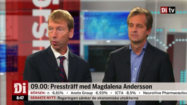Wellfelt: Ingen budgetkris så länge Sverige tuffar på