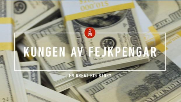 Rappaport försörjer sig – på falska sedlar