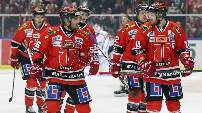 Örebro Hockey gör ett stort minusresultat för andra året i rad. Foto: JOHAN BERNSTRÖM / BILDBYRÅN