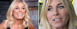 Pernilla Wahlgren prövar sig  fram – avslöjar kärlekshoppet