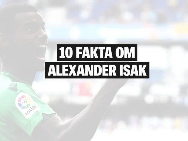 Här är allt du behöver veta om Alexander Isak