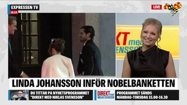 """Linda Johansson: """"Klart att jag är lite nervös"""""""