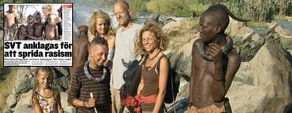 """Familjen Rosenkjaer Kjellström levde med himbafolket i norra Namibia. """"Vi fick aldrig reda på vilket avtal de lokala invånarna hade"""", säger Nanna Rosenkjaer Kjellström, 17 Foto: SVT"""