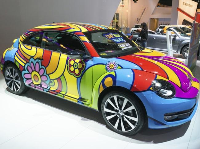 byta färg på bil