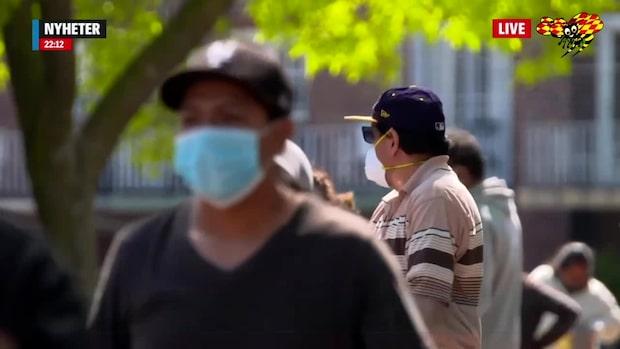 Kalifornien panikstänger efter ökade coronafall