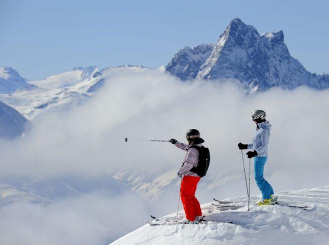 <span>Den klassiska alporten, en del av Ski Arlberg, kallas ofta skidåkningens vagga och lockade redan tidigt nyfikna skidpionjärer från världens alla hörn.</span>