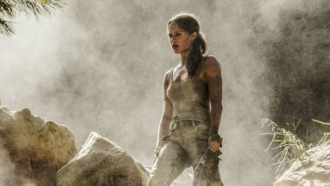Alicia Vikander som Lara Croft. Foto: PLANET PHOTOS / STELLA PICTURES / WARNER BROS/PLANET PHOTOS SUPPL
