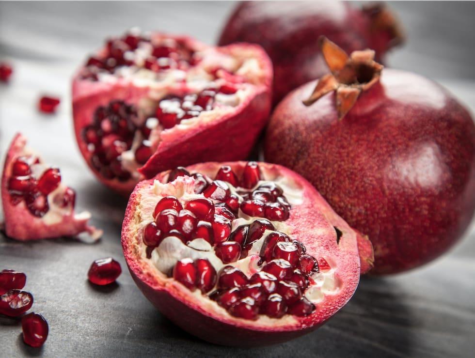 5 nyttiga anledningar att äta mer granatäpple