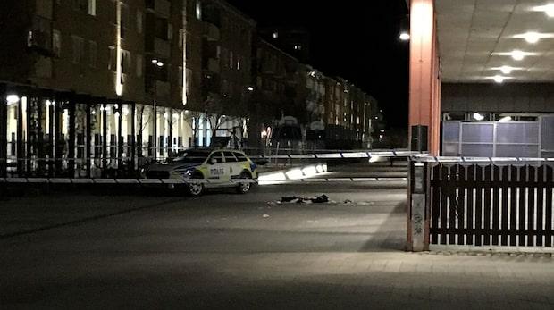 Skottlossning i Eskilstuna - en skadad