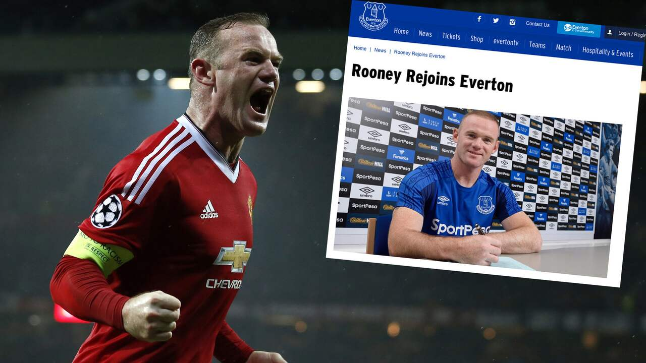 Rooney till everton en fantastisk kansla