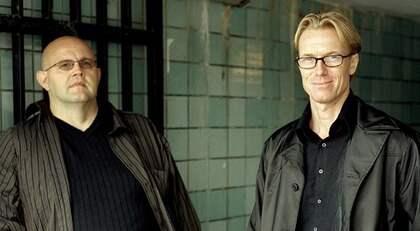 """Anders Roslund och Börge Hellström är just hemkomna från USA där de varit för att lansera den engelska översättningen av boken """"Tre sekunder""""."""