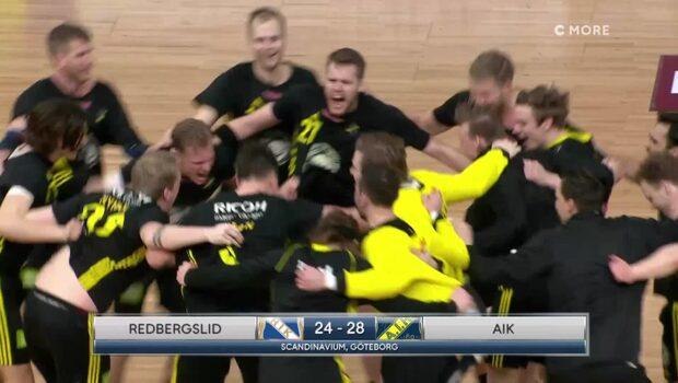 Höjdpunkter: Redbergslid-AIK