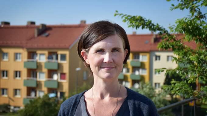 Märta Stenevi (MP), kommunalråd i Malmö. Foto: PRESSBILD