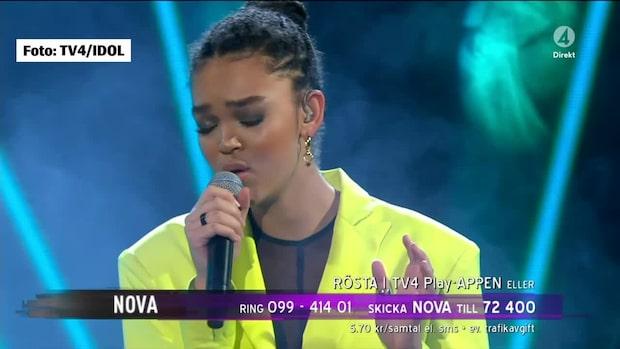 Juryns hyllning till Nova, 16, efter missen