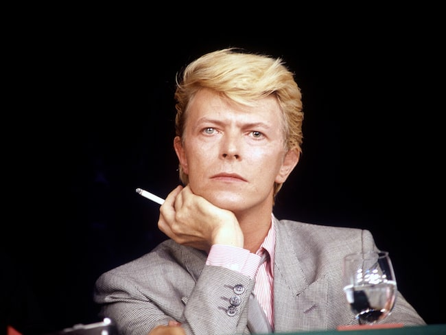 David Bowies är en av musikhistoriens största namn.