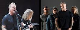 Metallica till Sverige nästa sommar
