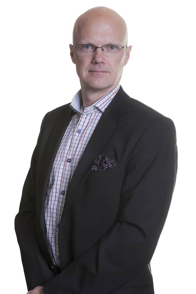 Håkan Nilsson är säkerhetschef på Landskrona stad. Han förklarar varför familjerna får betala. Foto: Martin Larsson/Landskrona stad