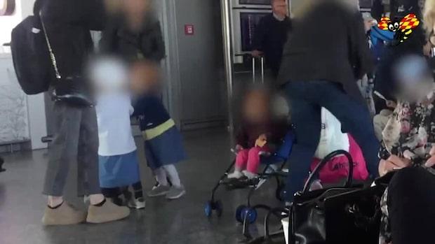 Michael Skråmos barn har landat i Sverige