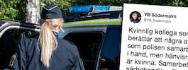 Vägrade ta kvinnlig polis i hand – politiker agerar