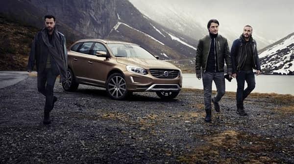 Swedish House Mafia lämnar världen bakom sig. Foto: Volvo Cars