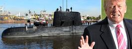 Trumps besked om ubåten:
