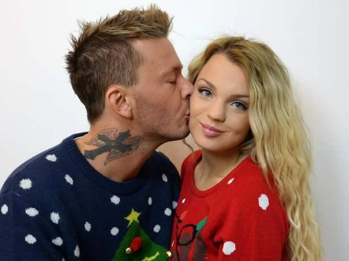 Joakim Berg och flickvännen Jonna Lundell. Foto: Privat