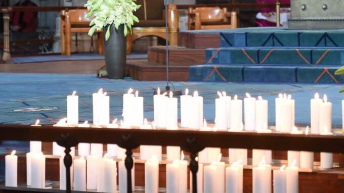 I domkyrkan i Köln tändes ljus för offren i flygkraschen i franska Alperna.