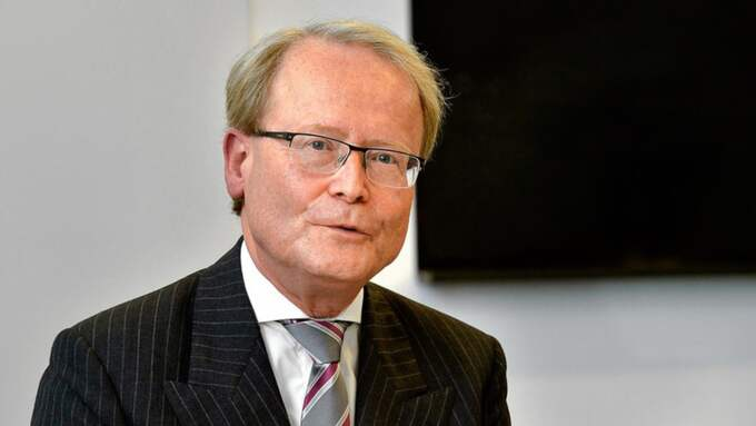 Tidigare KI-rektorn Anders Hamsten får nytt jobb i Regeringskansliet. Foto: Jonas Ekström/TT