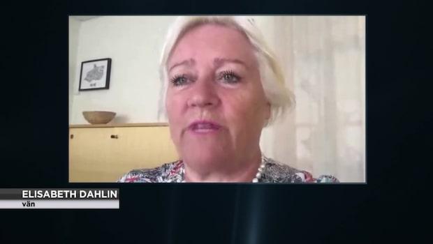 Elisabeth Dahlin var god vän till Anna Lindh – nu berättar hon om sorgen