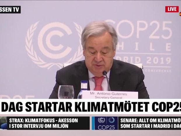 I dag startar klimatmötet COP25 i Madrid