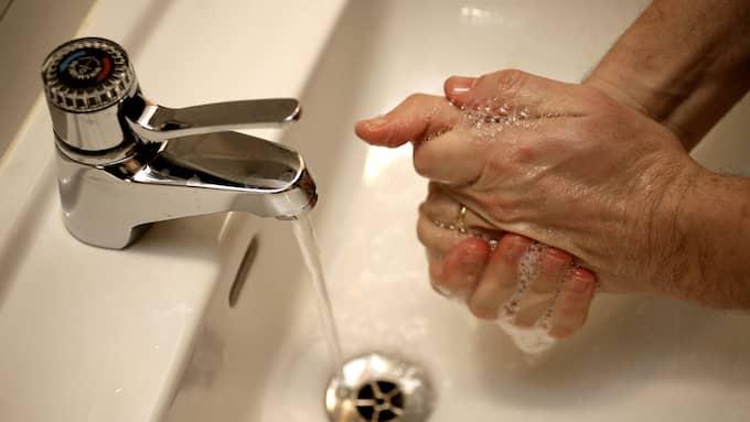 Hygien börjar med handtvätt. Foto: SUVAD MRKONJIC
