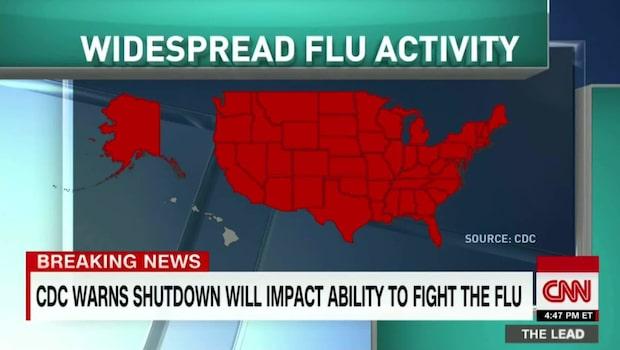 Influensasäsongen slår hårt mot USA