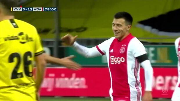 Total förnedring – Ajax vinner med 13-0