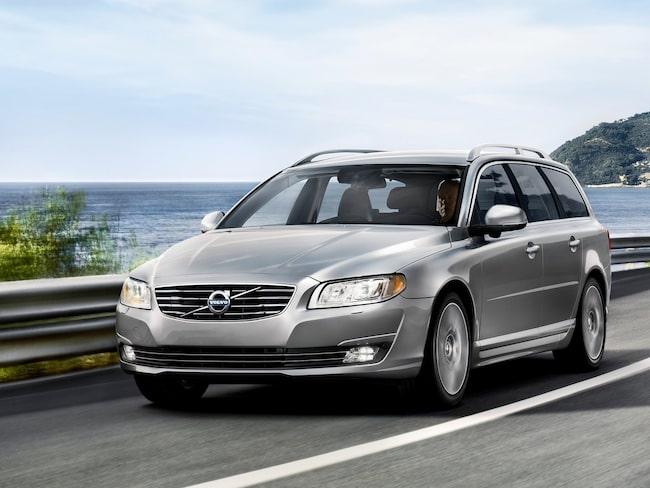 Volvo V70 är en av de berörda modellerna.