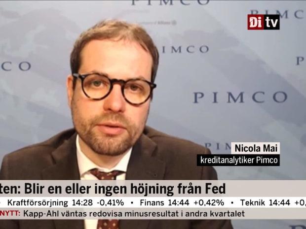 Experten: Blir en eller ingen höjning från Fed