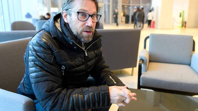 Peter Forsberg. Foto: CARL SANDIN / BILDBYRÅN
