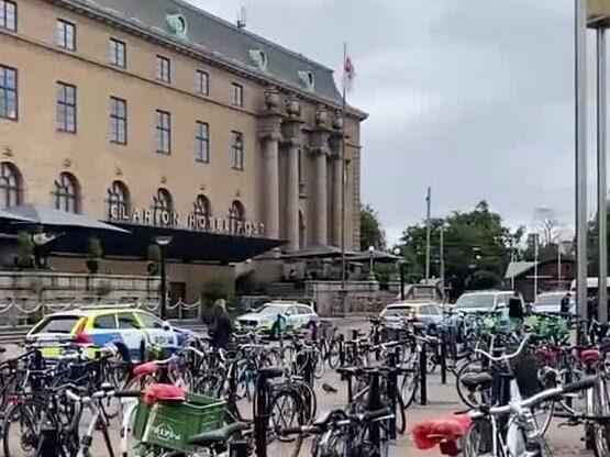 Maskerade gängmedlemmar höll möte på hotell i Göteborg