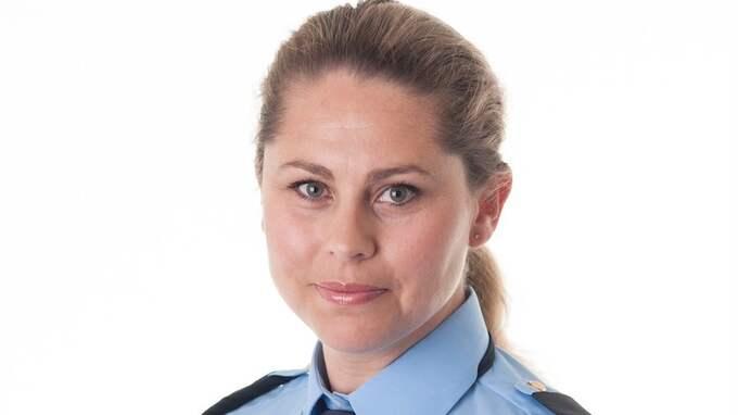 Jenny Widén, presstalesperson vid polisen i region Väst. Foto: POLISEN