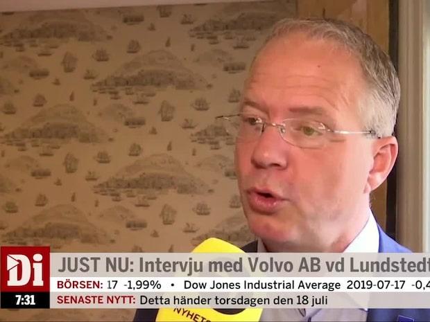 """Volvos vd: """"Betar av en alldeles för stor orderbok"""""""